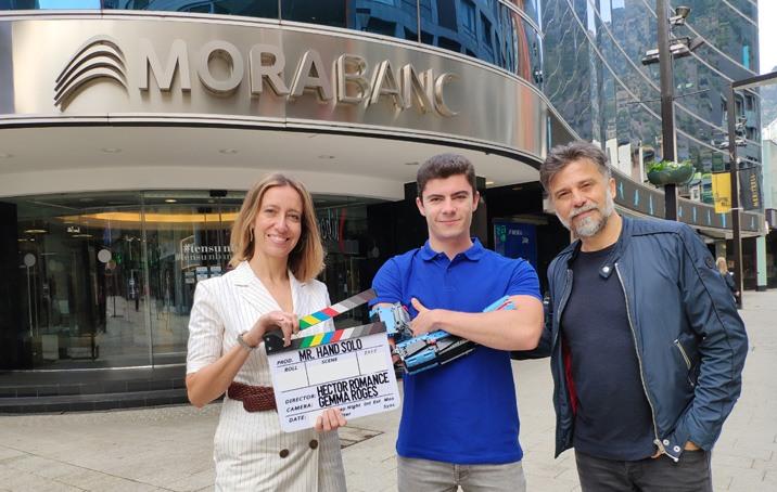"""MoraBanc patrocina el documental """"Mr. Hand Solo"""" que explica la vida de David Aguilar"""