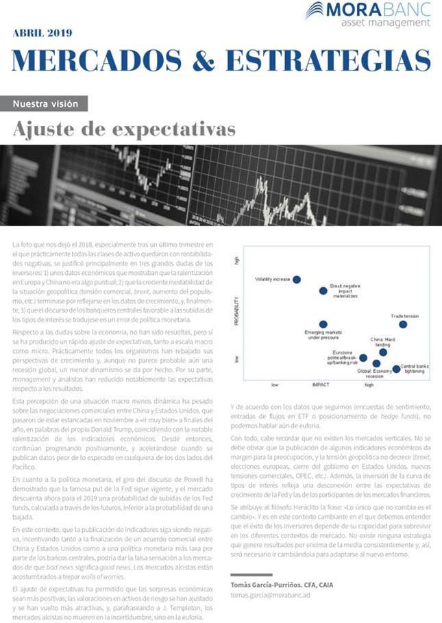 Mercados y Estrategias Enero 2020