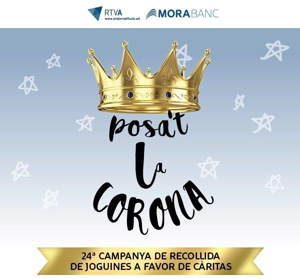 Ponte la corona. Campaña de recogida de juguetes a favor de Cáritas