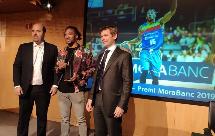 Els aficionats voten Andrew Albicy com a Premi MoraBanc al jugador més solvent de la temporada