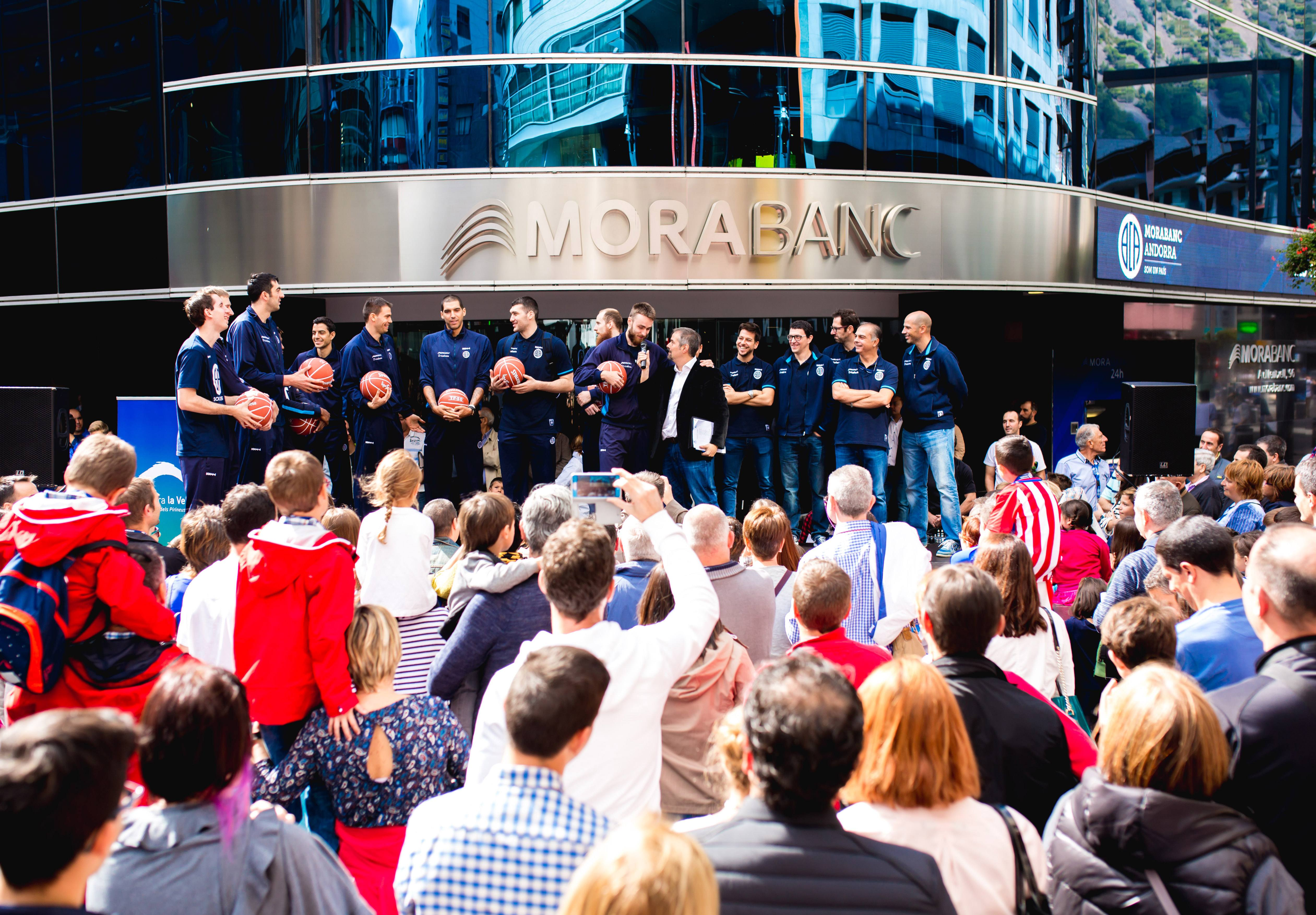El MoraBanc Andorra es presenta a MoraBanc