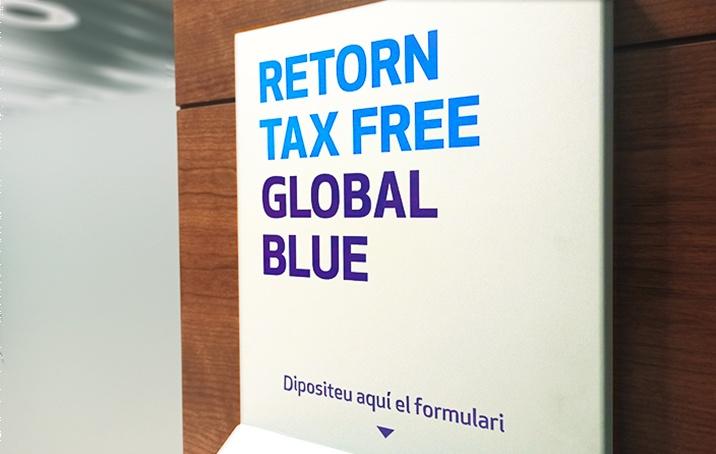 buzón Global Blue oficinas MoraBanc