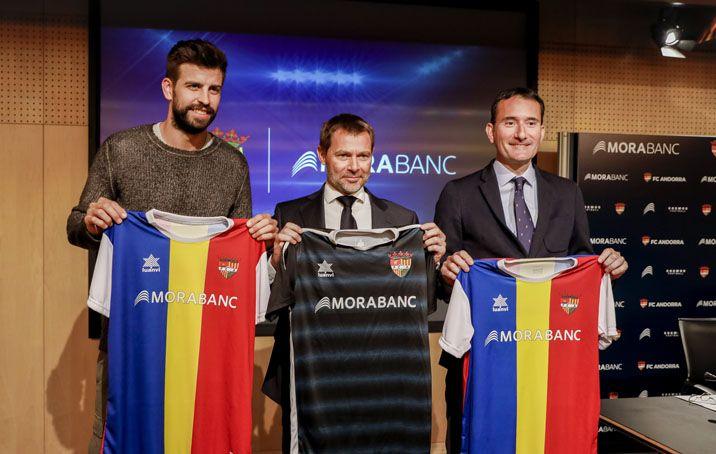 MoraBanc es converteix en patrocinador principal del FC Andorra