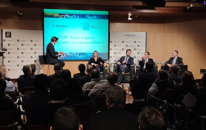 Conferència de MoraBanc i Goldman Sachs Asset Management