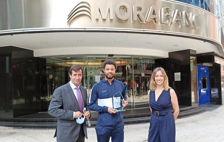 Clevin Hannah, Premi MoraBanc al jugador més solvent de la temporada