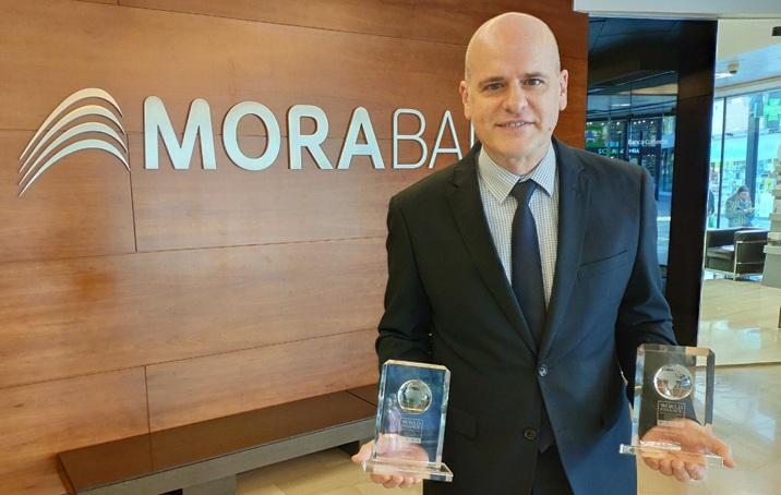 MoraBanc és guardonat com a millor banc digital d'Andorra per World Finance, per segon any consecutiu
