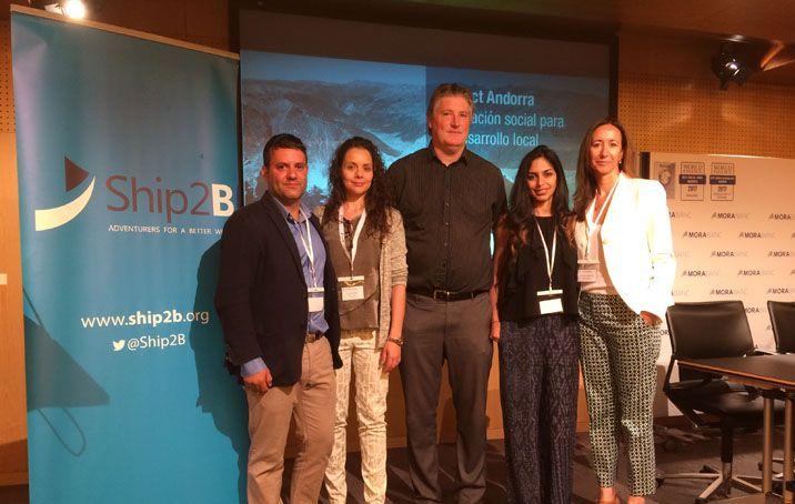 Presentació final del programa d'emprenedors de MoraBanc