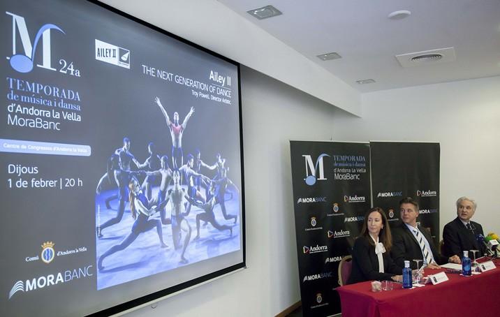 MoraBanc  i el Comú d'Andorra la Vella presenten la Temporada'18
