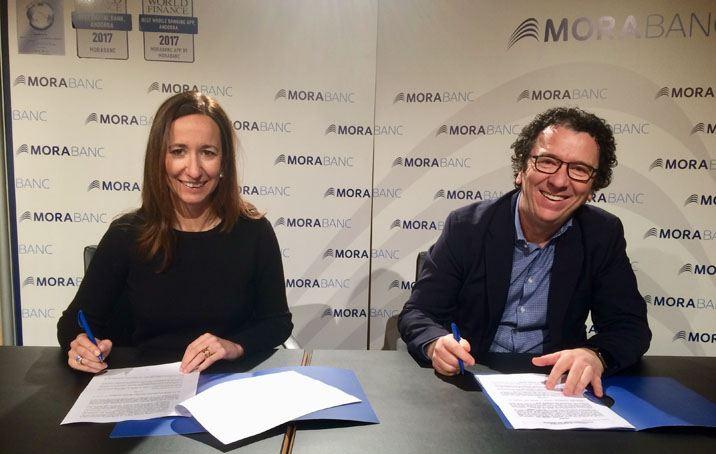 MoraBanc, patrocinador principal d'Andorra de Diva, l'espectacle del Cirque du Soleil
