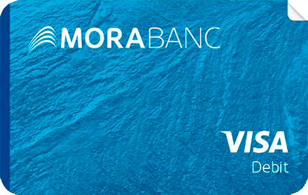 Visa MoraBanc Sticker